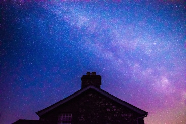 Rooftop Milky Way