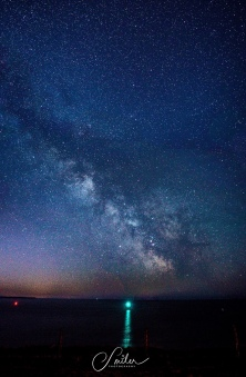 milky way from the ocean insta